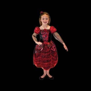 Kinder-Verkleidung Gotische Ballkleid