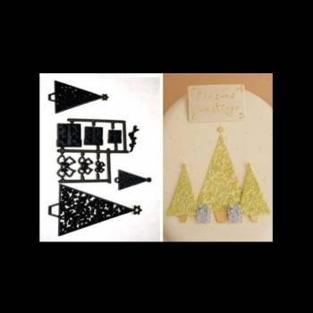 Patchwork-Schnitt/Fußabdruck Sapin/Geschenk
