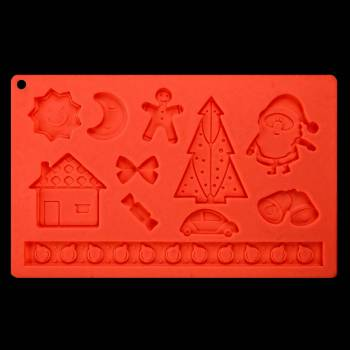 Silikon-Form Noël