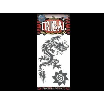Drachen-Stammes-Tattoos