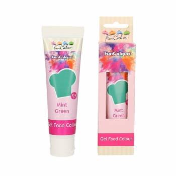 Lebensmittelfarbstoff Funcakes Grün Mint