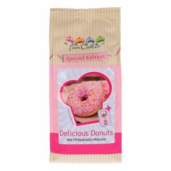 Mix-Paste zu Donuts