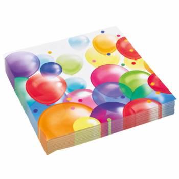 20 servietten Ballons