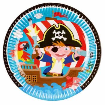 8 Piraten-Teller