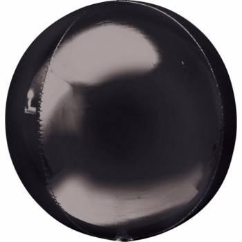 Luftballon bubble schwarz