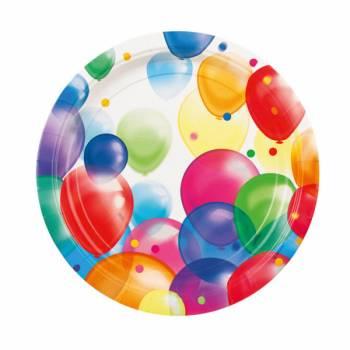 8 Teller luftballon