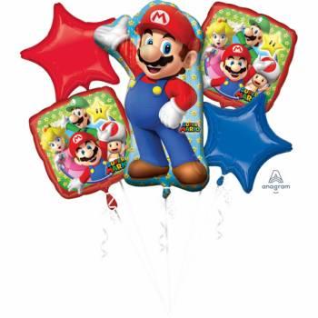 Strauß Helium Ballon Super Mario Bros