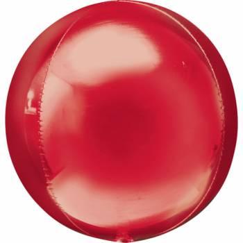 Luftballon bubble roter