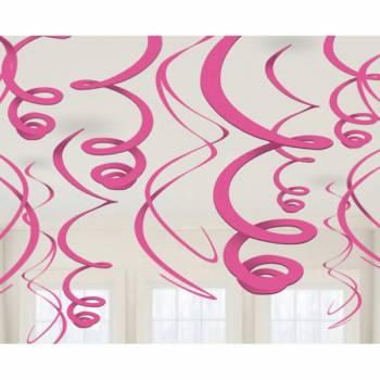 12 Suspension swirl fuschia