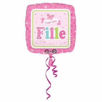 Helium-Ballon Sie ist ein Mädchen