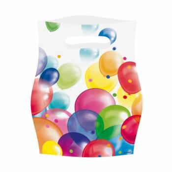 8 Party-Beutel Ballons