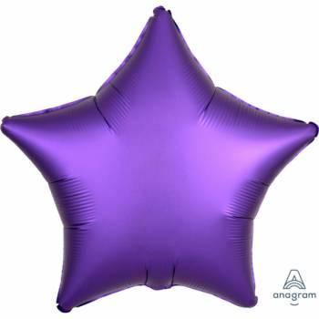 Helium Ballon Luxus Purple Stern