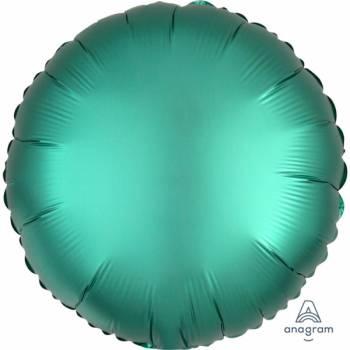 Helium Ballon Satin Luxus Smaragd Runde