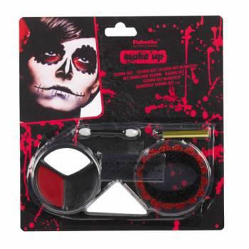 Santa Muerte Make-up Set
