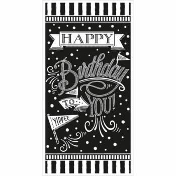 Banner Happy Birthday Schiefer