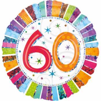 Riesiger Aluminium-Ballon 60 Jahre