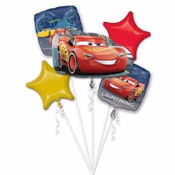 Helium-Ballonstrauß cars disney