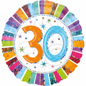 Riesiger Aluminium-Ballon 30 Jahre