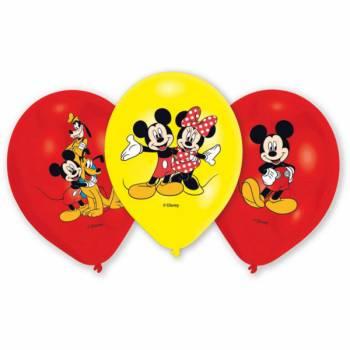 6 micky-Vier-Ballons