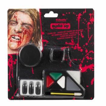 Set komplett make-up zombie