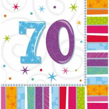 16 Handtücher 70 Jahre Colorstars
