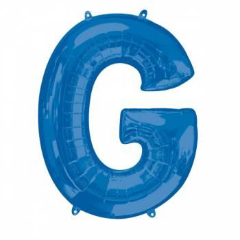 Mega Helium Ballon Buchstabe G blau