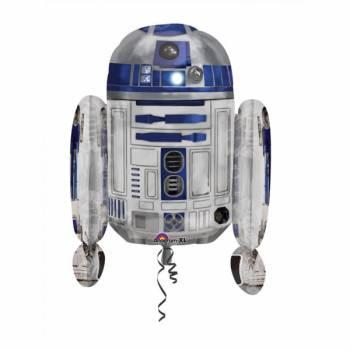 Riesen-Helium-Ballon R2D2 Star Wars