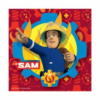 20 servietten Sam der Feuerwehrheld