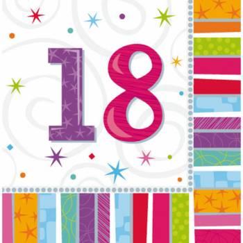16 Handtücher 18 Jahre Colorstars