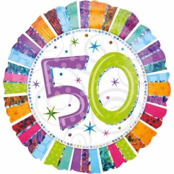 Riesiger Ballon Aluminium 50 Jahre