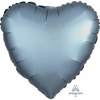Helium Luftballon Satin Luxus Metall Herz