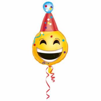 Luftballon Emoticon Geburtstag