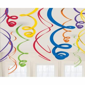 12 Suspension swirl rainbow