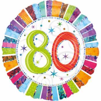 Riesiger Aluminium-Ballon 80 Jahre