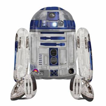 Super Riese Alu-Ballon Star Wars R2-D2