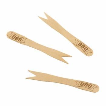 20 Mini Bambus Spieße Grillparty