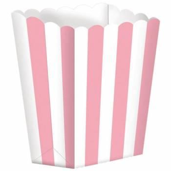 5 Pop Corn backförmchen backförmchen rosa