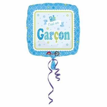 Helium-Ballon Er ist ein Junge