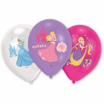 6 Ballons Prinzessinnen disney Quadri