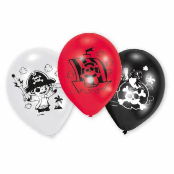 6 Piratenballons