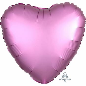 Ballon Helium satin luxe flamingo herz