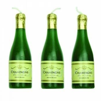 6 Kerzen Champagner