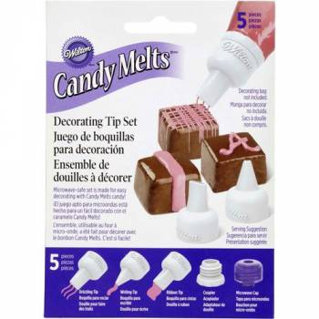 PVC-Hülsen Set für Schokolade