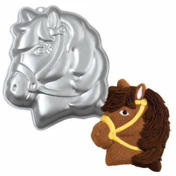 Wilton 2D Pferd Muschel