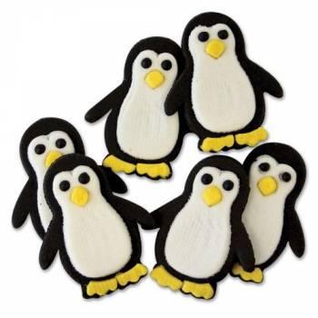 Mini figurine dekors sucre Pinguin