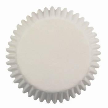 60 weiße Cupcakes