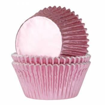 24 Cupcakes Schale Rosa Rosa Baby