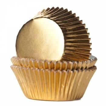 24 Cupcakes Gold