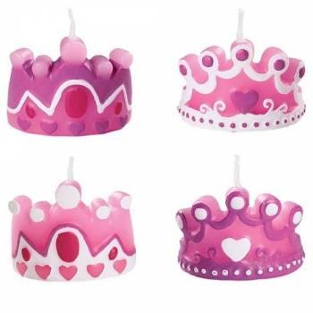 Kerzen Prinzessin Kronen