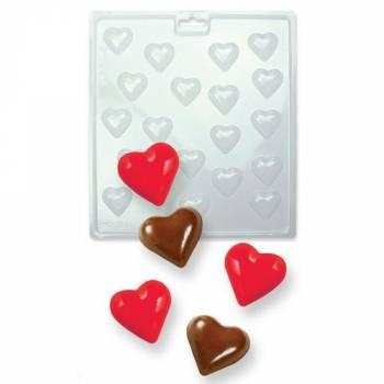 Süßigkeitenguss Schokolade KMU Herz
